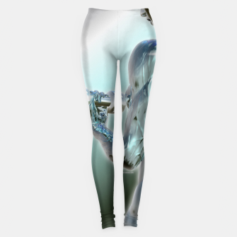 Miniaturka Female Chrome Bodybuilder Leggings, Live Heroes