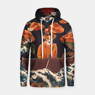 Thumbnail image of Alone in the ocean Hoodie, Live Heroes