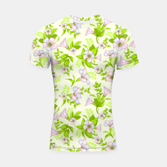 Thumbnail image of Floral Wildflowers Shortsleeve rashguard, Live Heroes