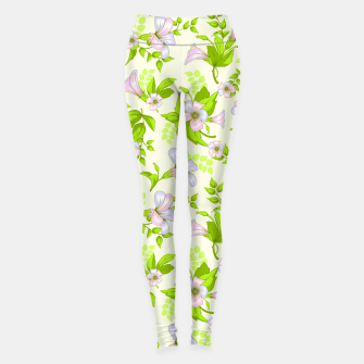 Thumbnail image of Floral Wildflowers Leggings, Live Heroes