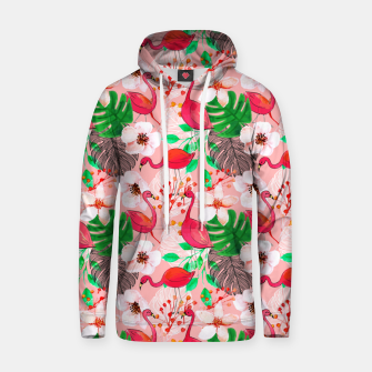 Thumbnail image of Tropical garden Hoodie, Live Heroes