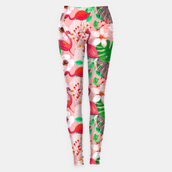 Thumbnail image of Tropical garden Leggings, Live Heroes