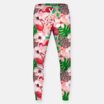 Thumbnail image of Tropical garden Sweatpants, Live Heroes