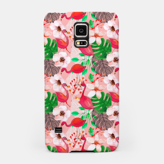 Thumbnail image of Tropical garden Samsung Case, Live Heroes