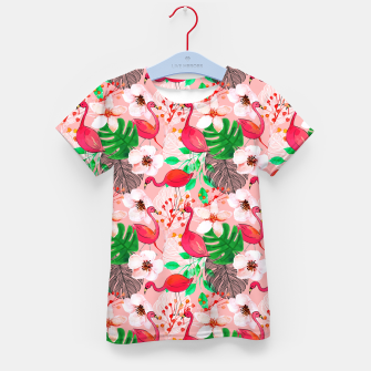 Thumbnail image of Tropical garden Kid's t-shirt, Live Heroes