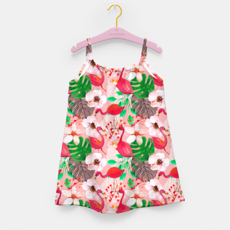 Thumbnail image of Tropical garden Girl's dress, Live Heroes
