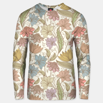 Thumbnail image of Floral Tropical Vintage Unisex sweater, Live Heroes