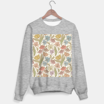 Thumbnail image of Floral Tropical Vintage Sweater regular, Live Heroes