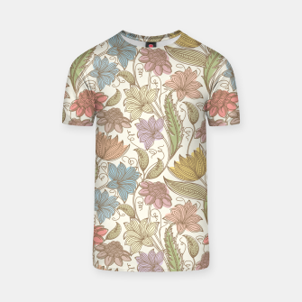 Thumbnail image of Floral Tropical Vintage T-shirt, Live Heroes