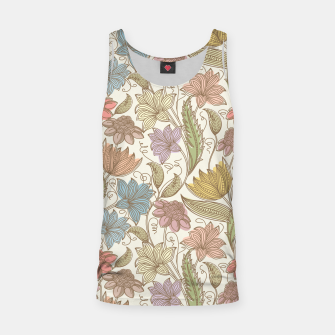 Thumbnail image of Floral Tropical Vintage Tank Top, Live Heroes
