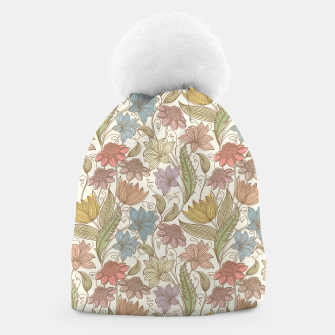Thumbnail image of Floral Tropical Vintage Beanie, Live Heroes