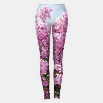 Thumbnail image of Lilacs With Sky Leggings, Live Heroes