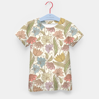 Thumbnail image of Floral Tropical Vintage Kid's t-shirt, Live Heroes