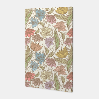 Thumbnail image of Floral Tropical Vintage Canvas, Live Heroes