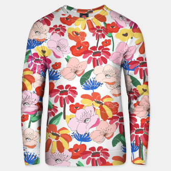 Thumbnail image of Pretty Blooms Unisex sweater, Live Heroes