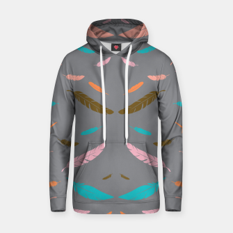 Thumbnail image of FALLING FEATHERS Hoodie, Live Heroes