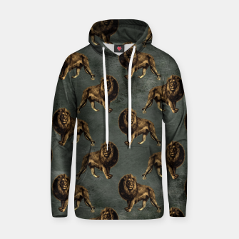 Thumbnail image of Bronze animal pattern Bluza z kapturem, Live Heroes