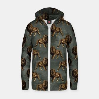 Thumbnail image of Bronze animal pattern Bluza z zamkiem, Live Heroes