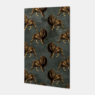 Thumbnail image of Bronze animal pattern Canvas, Live Heroes