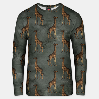 Thumbnail image of Bronze animal pattern Bluza unisex, Live Heroes