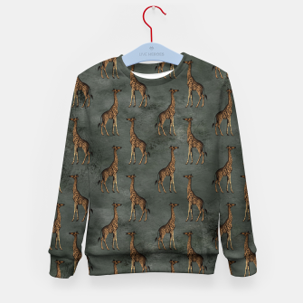 Thumbnail image of Bronze animal pattern Bluza dziecięca, Live Heroes