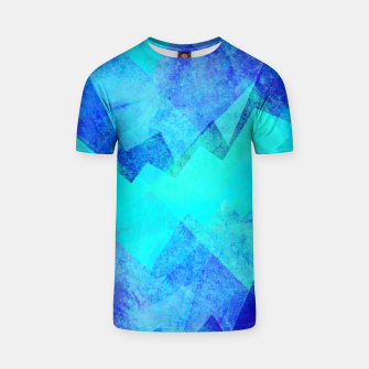 Thumbnail image of Abstract blue T-shirt, Live Heroes