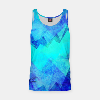 Thumbnail image of Abstract blue Tank Top, Live Heroes