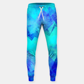 Thumbnail image of Abstract blue Sweatpants, Live Heroes