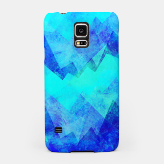 Thumbnail image of Abstract blue Samsung Case, Live Heroes