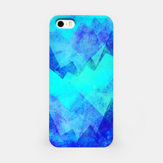 Thumbnail image of Abstract blue iPhone Case, Live Heroes