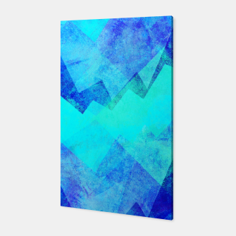 Thumbnail image of Abstract blue Canvas, Live Heroes