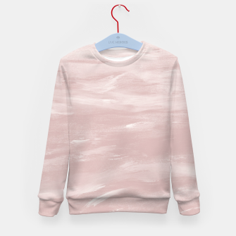 Miniaturka Blush Watercolor Dream #1 #painting #decor #art Kindersweatshirt, Live Heroes