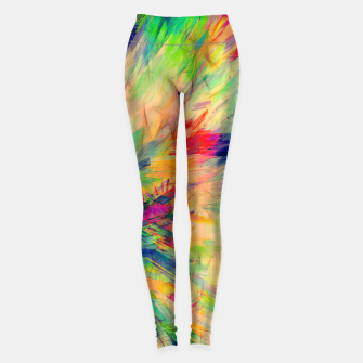 Thumbnail image of Fancy Pattern I Leggings, Live Heroes