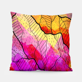 Thumbnail image of Funky Peaks Pillow, Live Heroes