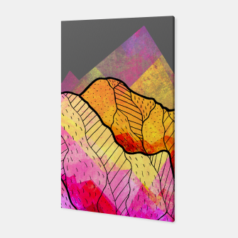 Thumbnail image of Funky Peaks Canvas, Live Heroes