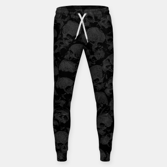 Thumbnail image of Think Outside The Box Goth Coffin Humour Sweatpants, Live Heroes