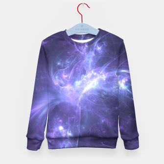 Miniaturka Stellar Explosion Abstract Fractal Art Design Kid's sweater, Live Heroes