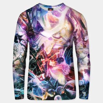 Thumbnail image of Synaptic Womb Unisex sweater, Live Heroes