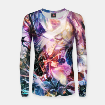 Thumbnail image of Synaptic Womb Women sweater, Live Heroes