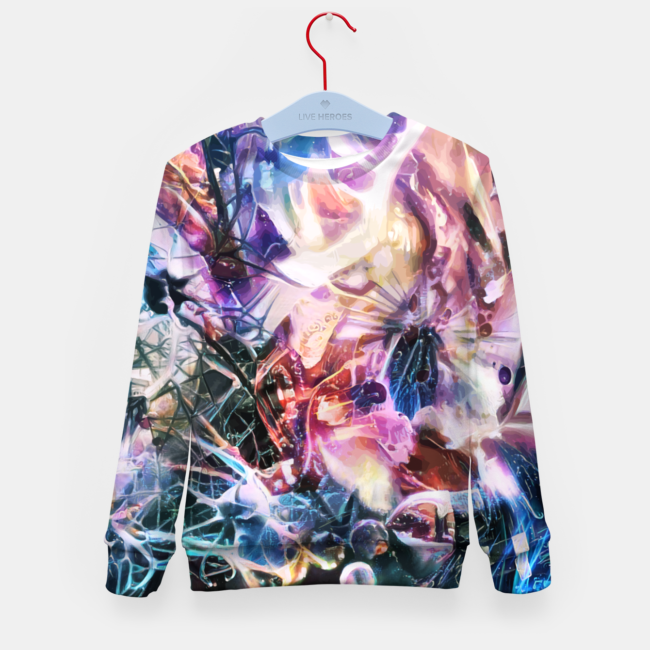 Image of Synaptic Womb Kid's sweater - Live Heroes