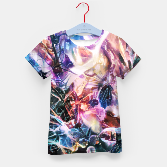 Thumbnail image of Synaptic Womb Kid's t-shirt, Live Heroes