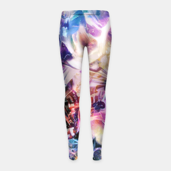 Thumbnail image of Synaptic Womb Girl's leggings, Live Heroes