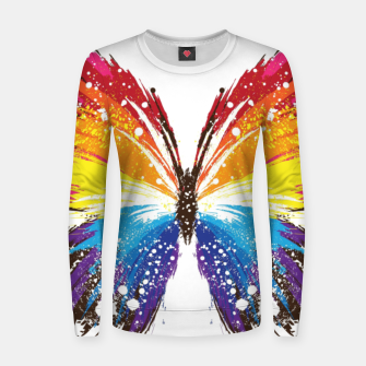 Thumbnail image of Butterfly Women sweater, Live Heroes