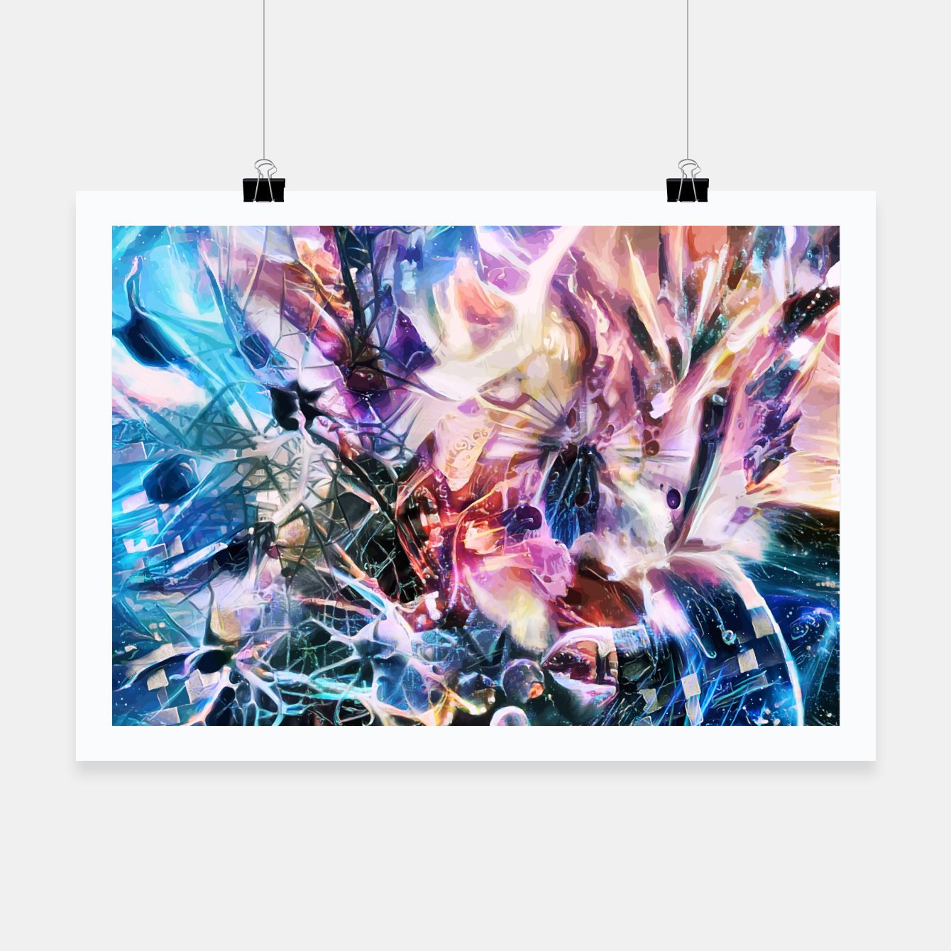 Image of Synaptic Womb Poster - Live Heroes
