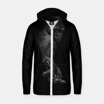 GREAT APE Zip up hoodie thumbnail image