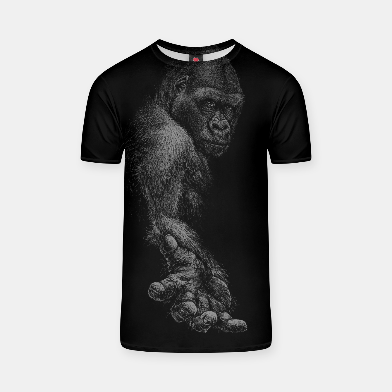 Image of GREAT APE T-shirt - Live Heroes