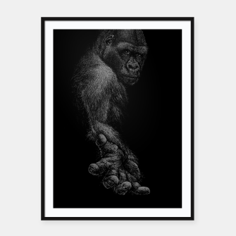 GREAT APE Framed poster thumbnail image