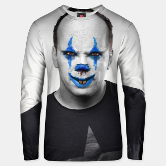 Thumbnail image of Halloween Clown Unisex sweater, Live Heroes