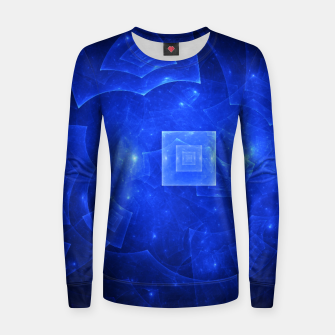 Thumbnail image of Blue Square Universe 2 Women sweater, Live Heroes