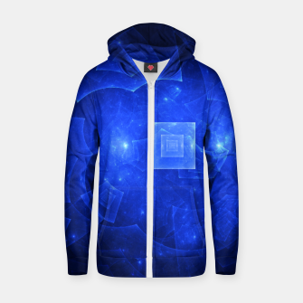 Thumbnail image of Blue Square Universe 2 Zip up hoodie, Live Heroes